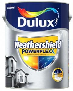 Sơn nước ngoại thất siêu cao cấp Dulux Weathershield Powerflexx bề mặt bóng GJ8B