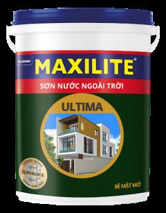 Sơn nước ngoài trời Maxilite ULtima bề mặt mờ LU2
