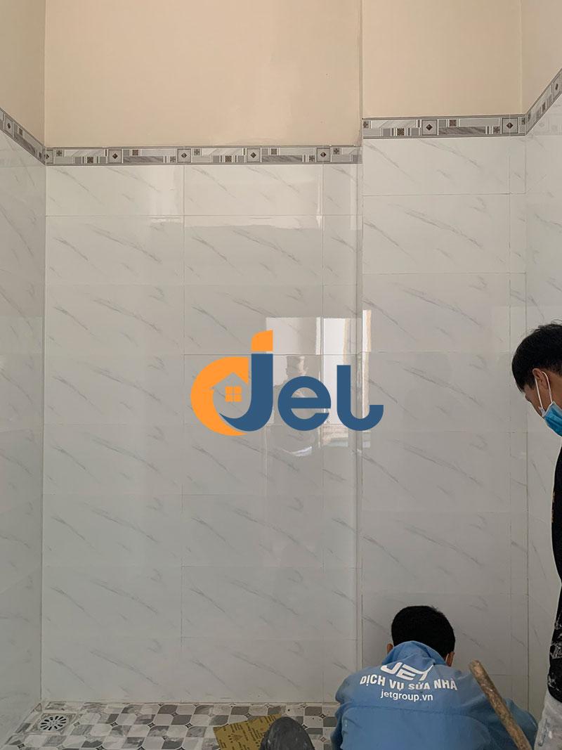 nhà vệ sinh lầu 1 sau khi hoàn thiện