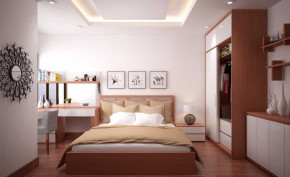 Vì sao phòng ngủ không nên thẳng hàng với cửa chính và cạnh phòng bếp ?